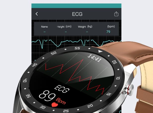 ecg monitor on the watch
